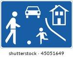 road sign | Shutterstock . vector #45051649