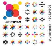 vector logo icon designs of... | Shutterstock .eps vector #450524908