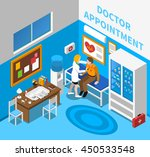 doctor appointment with... | Shutterstock .eps vector #450533548