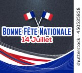france greeting card ... | Shutterstock .eps vector #450535828