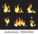 explosion animation vector... | Shutterstock .eps vector #450544564