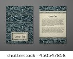 vector cards with pattern ... | Shutterstock .eps vector #450547858