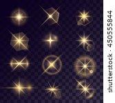 vector starlight effects. set... | Shutterstock .eps vector #450555844
