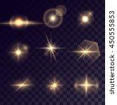 vector starlight effects. set... | Shutterstock .eps vector #450555853
