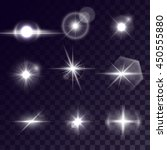 vector starlight effects. set... | Shutterstock .eps vector #450555880