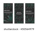 traveling in space banner set....   Shutterstock .eps vector #450564979
