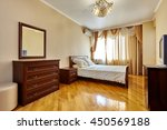bedroom with a beautiful... | Shutterstock . vector #450569188