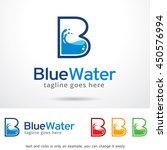 letter b logo template design... | Shutterstock .eps vector #450576994