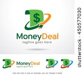 money deal logo template design ... | Shutterstock .eps vector #450577030