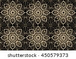 lacy  delicate seamless pattern ...   Shutterstock .eps vector #450579373