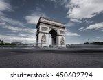 triumphal arch. paris. france.... | Shutterstock . vector #450602794