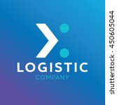 logo logistic company | Shutterstock .eps vector #450605044