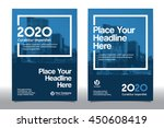 blue color scheme with city... | Shutterstock .eps vector #450608419