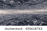 Upside Down City  Background.