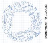 music doodle vector set | Shutterstock .eps vector #450620083