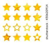stars icons set vector... | Shutterstock .eps vector #450620914