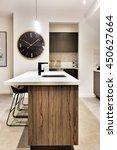 modern kitchen countertop made... | Shutterstock . vector #450627664