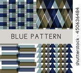 abstract pattern with... | Shutterstock .eps vector #450636484