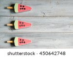 ice cream in a shape of... | Shutterstock . vector #450642748