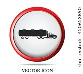 truck icon vector illustration