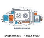 engineering and architecture... | Shutterstock .eps vector #450655900