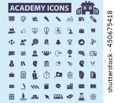 academy icons | Shutterstock .eps vector #450675418