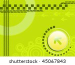 abstract green background with... | Shutterstock .eps vector #45067843