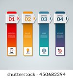 infographic template. business... | Shutterstock .eps vector #450682294