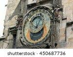 Prague Astronomical Clock At...