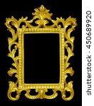 Gold Vintage Picture Frame...