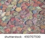 painting of river rocks under... | Shutterstock . vector #450707530