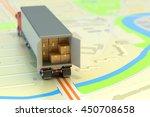 freight transportation ... | Shutterstock . vector #450708658