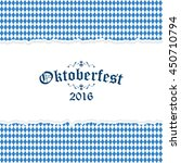 oktoberfest background with... | Shutterstock .eps vector #450710794