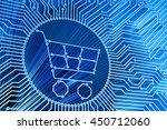 e commerce  internet shopping ... | Shutterstock . vector #450712060