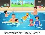a vector illustration of kids... | Shutterstock .eps vector #450726916