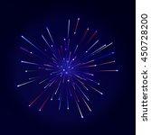 festive color firework... | Shutterstock .eps vector #450728200