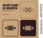 don't clamp as indicated vector ... | Shutterstock .eps vector #450730924