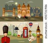 london banner historical... | Shutterstock .eps vector #450731986