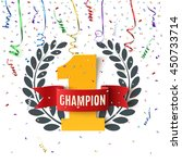 champion  winner   number one... | Shutterstock .eps vector #450733714