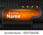 orange abstract template for...