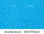 water ripples on blue tiled... | Shutterstock . vector #450749260