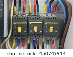 200 amp circuit breaker three... | Shutterstock . vector #450749914