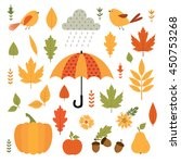 Autumn. Fall. Vector Set.