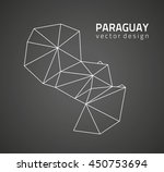 paraguay black and white modern ...