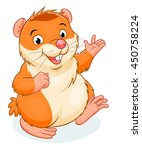 vector illustration of cute... | Shutterstock .eps vector #450758224