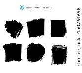 scribble vector forms set... | Shutterstock .eps vector #450764698