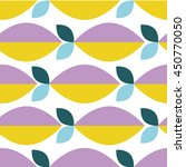 abstract fruit vector pattern | Shutterstock .eps vector #450770050