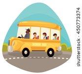 cartoon vector illustration of... | Shutterstock .eps vector #450773374