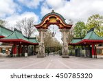 famous entrance at zoological... | Shutterstock . vector #450785320