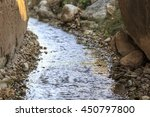 Watercourse In A Traditional...
